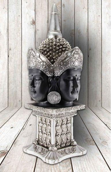 Buddha hoofd met 4 gezichten