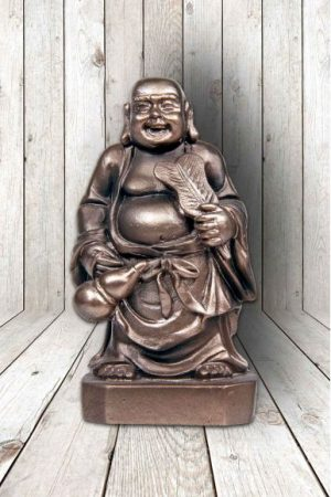Mini Lucky Buddha beeldje - geluksbrenger
