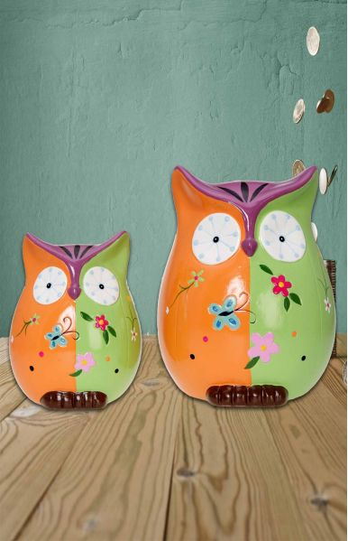 Spaarpot uil Wise Owl