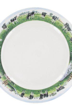 Landelijk Dinerbord - Ø 25 cm - Wiebe van der Zee