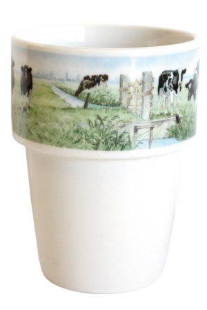 Melkbeker 'Nieuwe Buren' Wiebe van der Zee