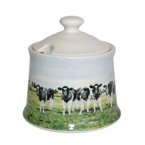 Koeien suikerpot 'Koe in Waterland' Wiebe van der Zee