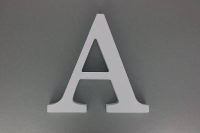 Houten Letter Wit