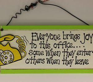 handgemaakt houten tekstbord 'Everyone'