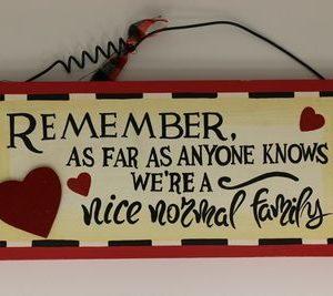 houten handgemaakt tekstbord 'Remember'