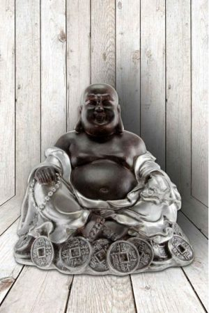 Buddha Happy Fortune, 12x13 cm