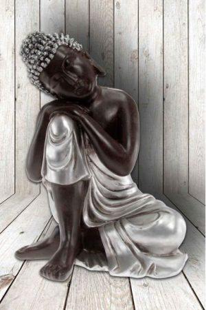 Buddha slapend links, 18x23 cm
