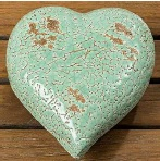 hart aardewerk lime groen 1004818