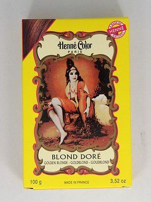 Henna poeder om haar te kleuren