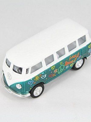 VW busje Flower Power groen 1962