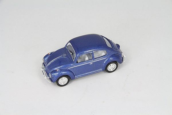 VW kever blauw