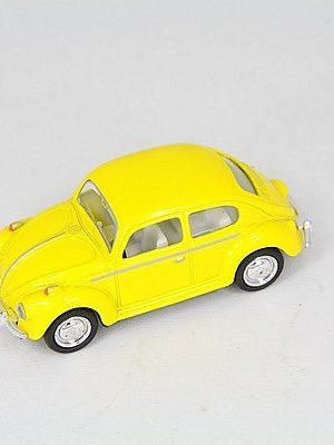 VW kever geel