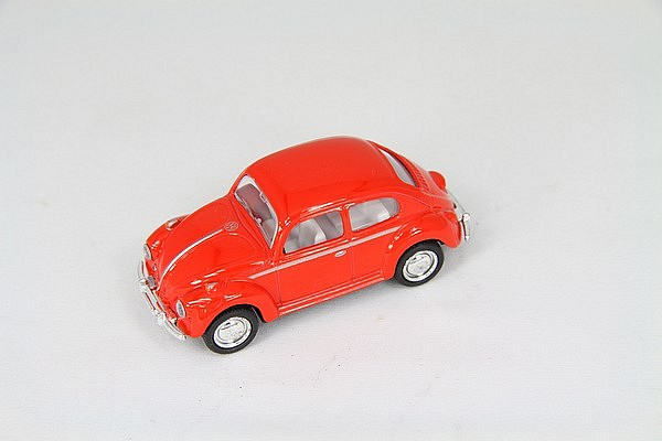 VW kever rood