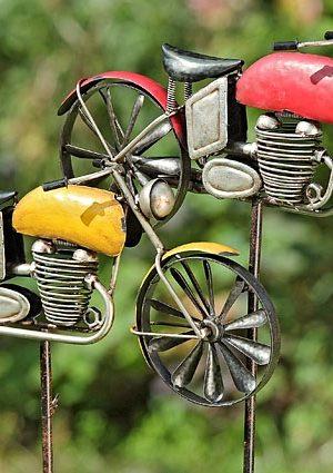 Tuinsteker motor geel of rood BLTZ-1014600