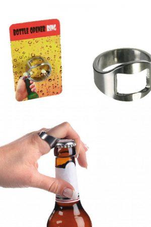 Bierfles opener ring