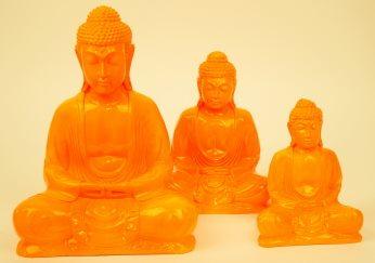 Buddha oranje