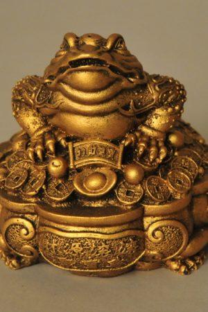 Lucky Frog fortune Gelukskikker goud