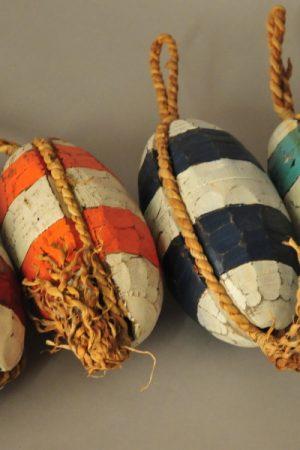 Decoratief houten boei handwerk Indonesië