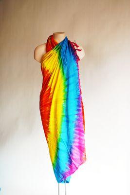 Sarong regenboog - omslagdoek