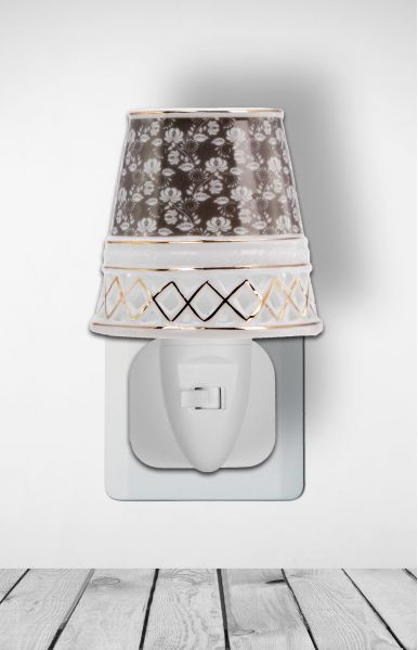 Nachtlampje Taupe Flowers - Night Light Collection