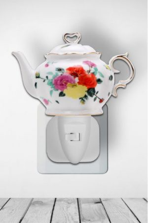 Nachtlampje Teapot Tea Roses - Night Light Collection