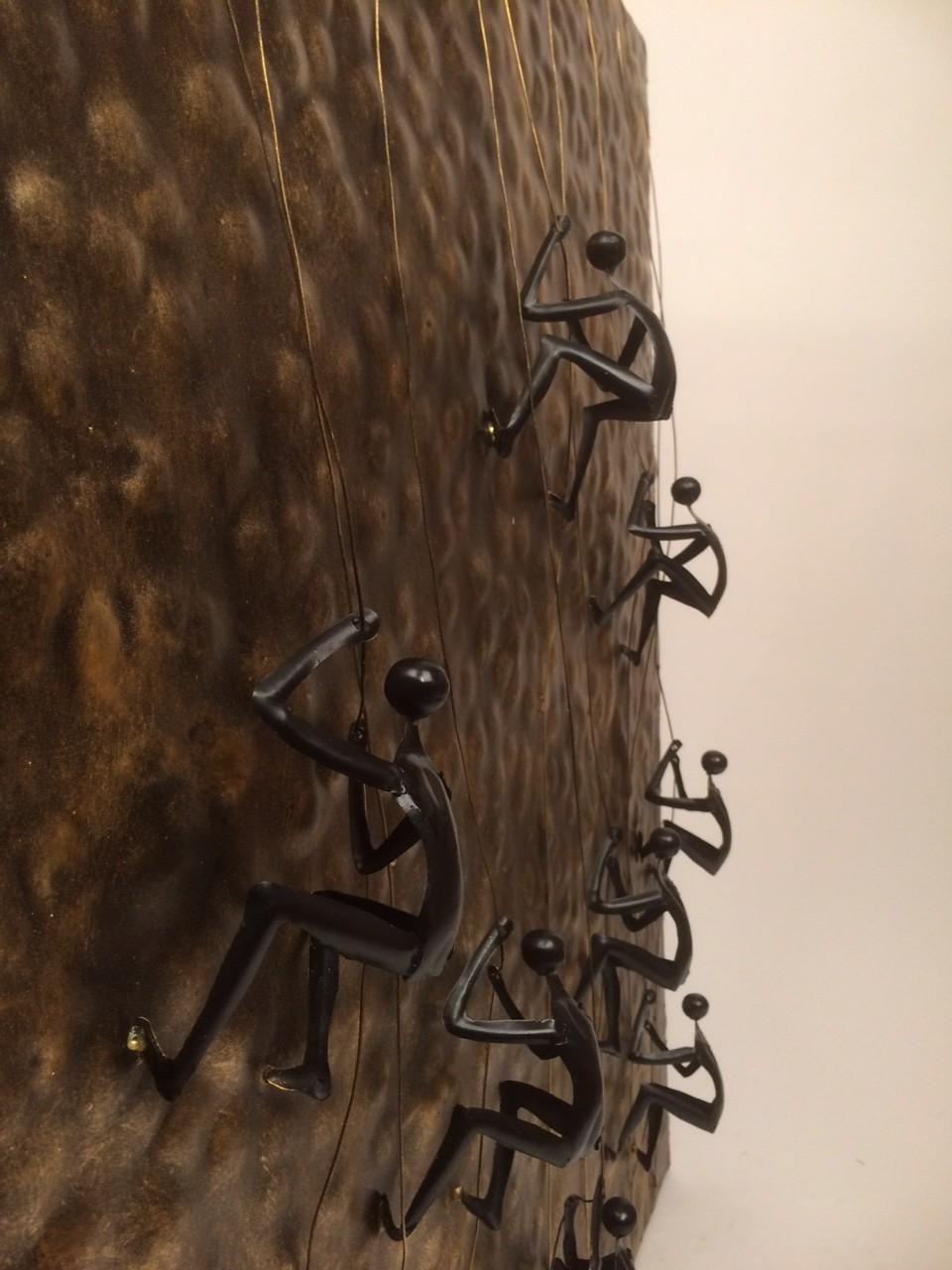 Metalen wanddecoratie u2013 klimmers (abseilers) : Zus u0026 Zo Oostburg ...