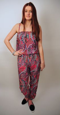 Jumpsuit 'Anne' roze