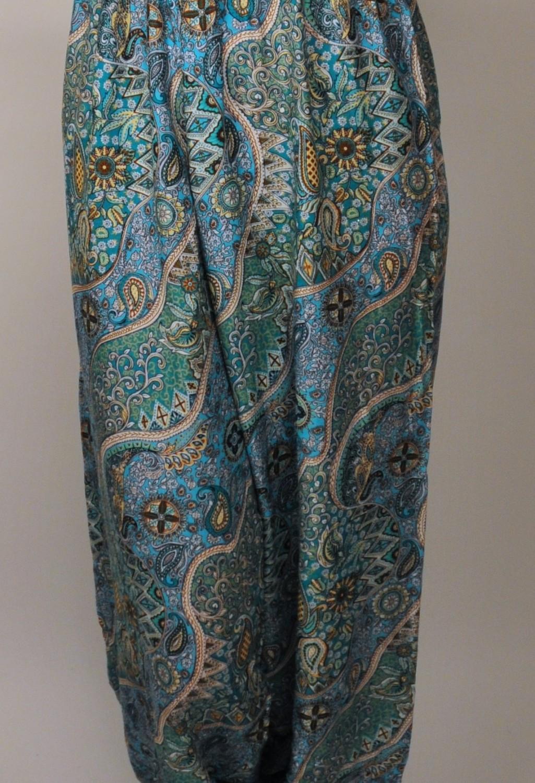 Jumpsuit-turquoise