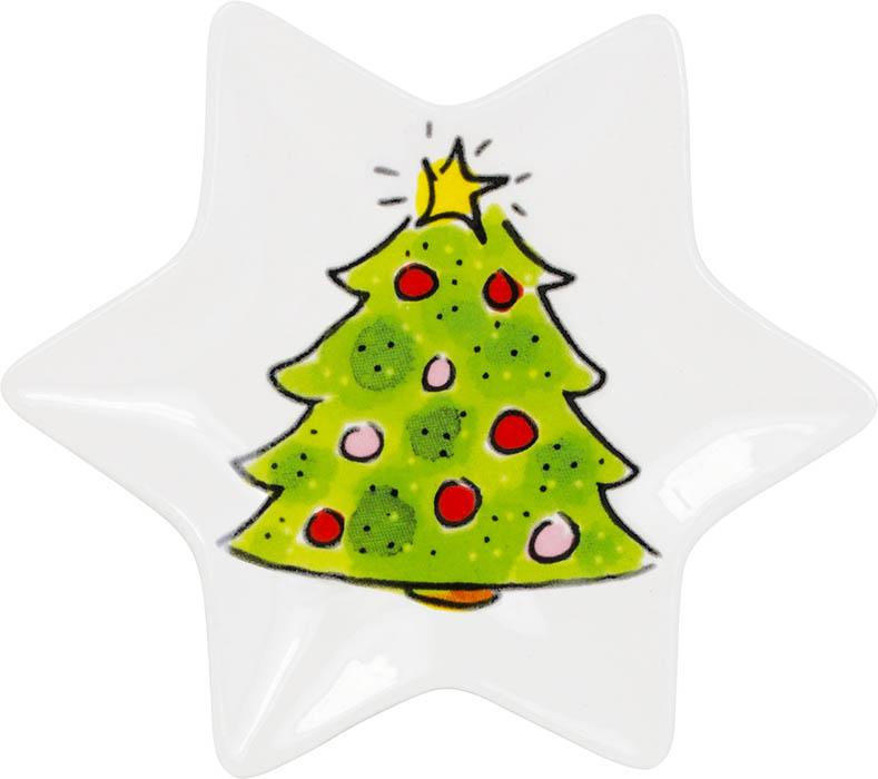 Blond-AmBlond Amsterdam Kerst 12cm bordje tree