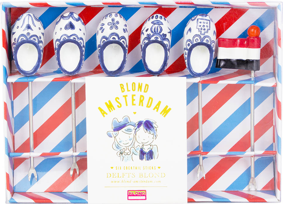 Blond Amsterdam Delfts Blond u2013 Cocktailprikkers u2013 6 stuks : Zus ...