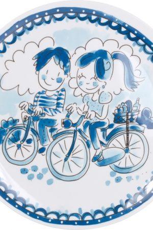 Blond Amsterdam Melamine bord (22cm) Delfts Blond - Bikes