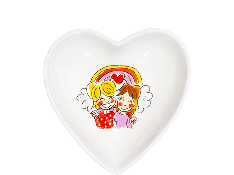 Blond Amsterdam hart kom 16,5 cm girls