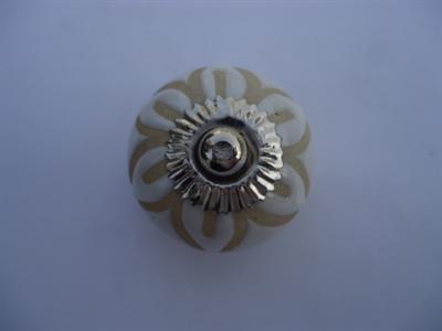 Keramische knop - bloem KN296