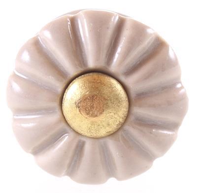 Keramische knop - brocant kn1028
