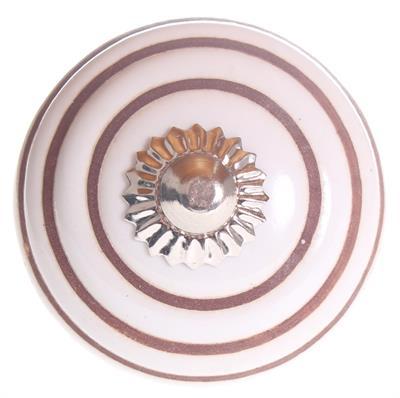 Keramische knop - cirkels kn1113
