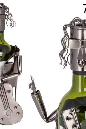 71-3140 wijnfleshouder gitarist