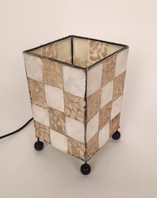 Capiz schelpenlamp 50833