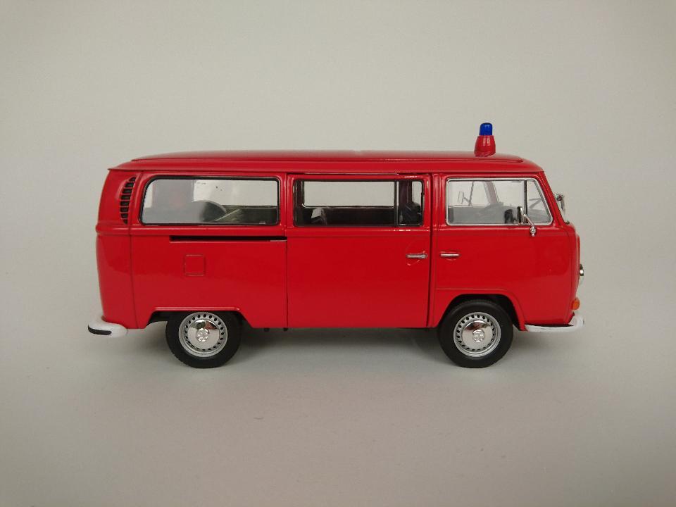 VW brandweer bus 50784