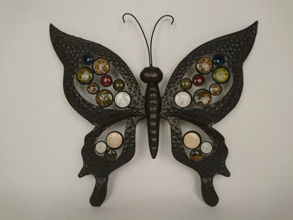 metalen vlinder wand 5652800