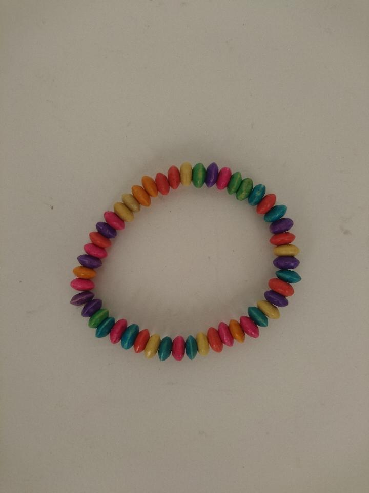 regenboog armband 50873