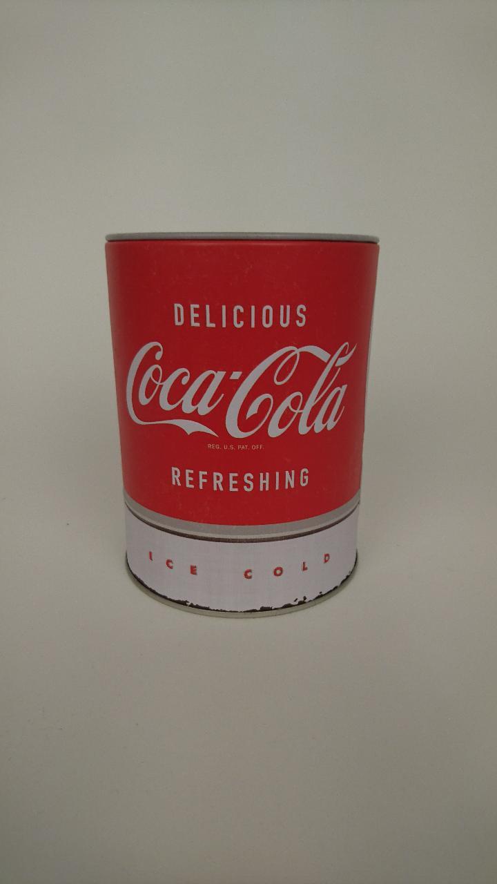 spaarpot nostalgic art coca-cola rood 50768