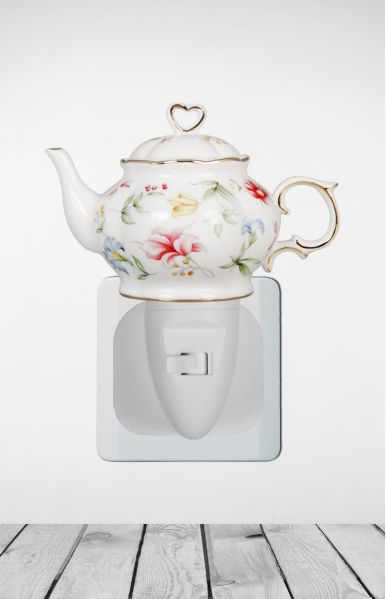 Nachtlampje Teapot Spring Field - Night Light Collection