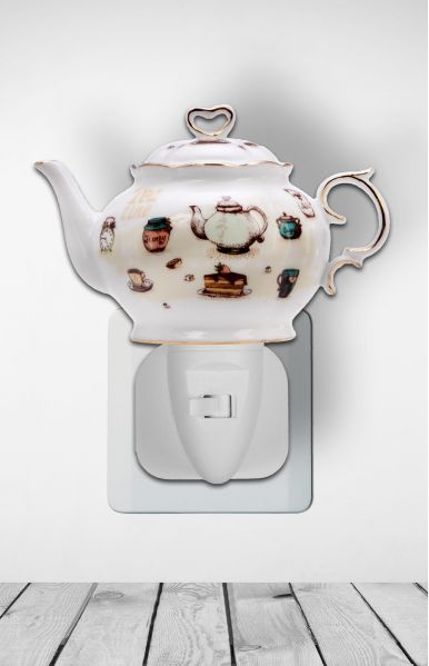 Nachtlampje teapot tea time - Night Light Collection