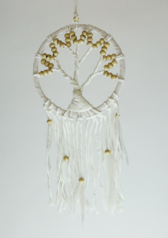dromenvanger 16cm tree of life wit