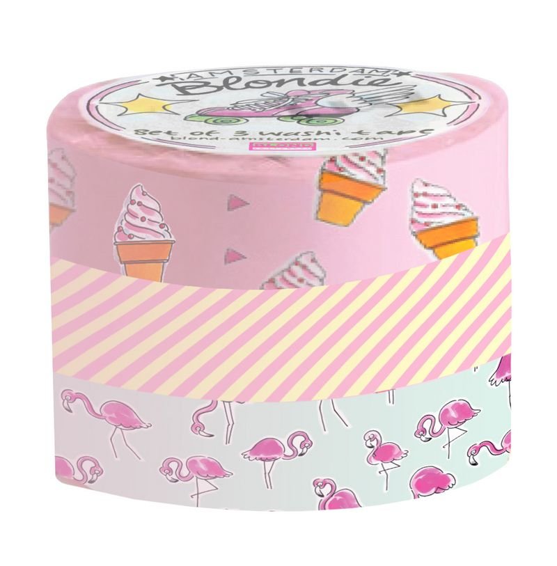 Blond Amsterdam - set van 3 washi tapes