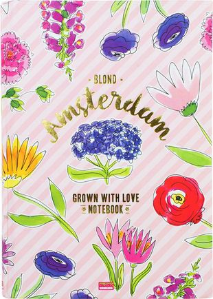 Blond Amsterdam - notebook A5 'my secret garden'