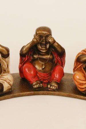Buddha set van 3 stuks, horen, zien en zwijgen