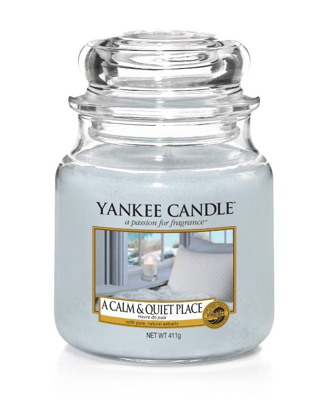 yankee candle-a calm&quiet place-medium jar-52213