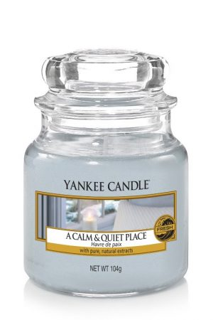 yankee candle-a calm&quiet place-small jar-52214