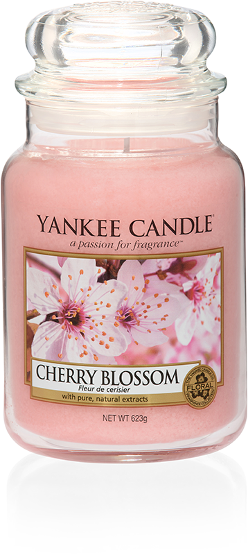 yankee candle-cherry blossom-large jar-52220